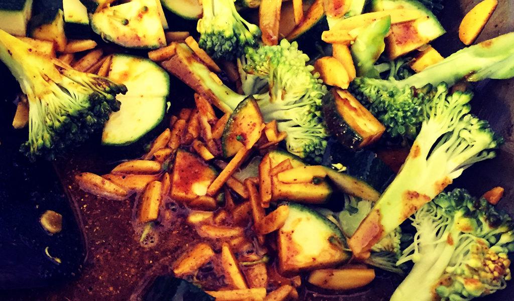 Turmeric veggies