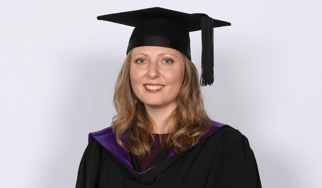 Karla Rawles, Naturopath in graduation gown